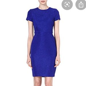 Ted Baker Nedeli Blue/Purple Textured Bodycon